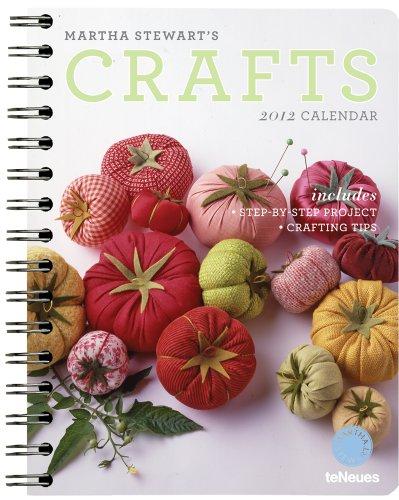 Martha Stewart's Crafts 2012 Calendar