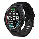Smartwatch, LIFEBEE Orologio Intelligenti Braccialetto Fitness Tracker Activity Sport Smart Watch Schermo a Colori Impermeabile Monitoraggio Della Frequenza Cardiaca Uomo Donna per Android iOS