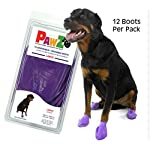 Large Pawz Durable All Weather Dog Boots (12 boots) 10