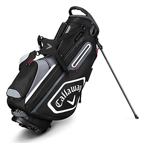 Callaway Golf Chev‿Sac de Stand Noir/Titane/Blanc, Taille Unique