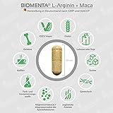 Biomenta Arginin + Maca - 3