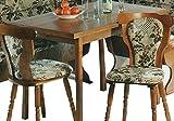 Küchentisch ausziehbar auf 160x60cm Eiche rustikal P43 - Esstisch Eiche - (2536)