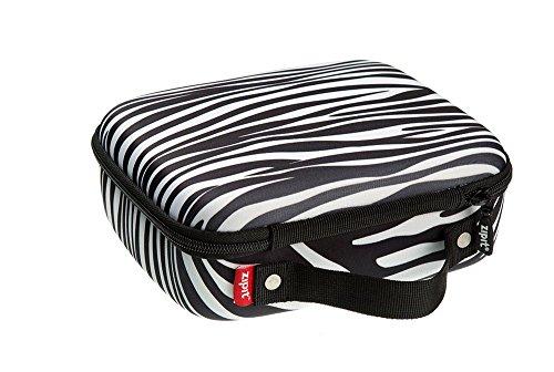 Zipit Colorz Box Brillenetui, Blau Lunchbox zebra (Zebra Büromaterial)