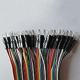Aiming 1x 20cm männlich zu weiblich Dupont Cable Jumper Wire für Arduino Brotschneidebrett