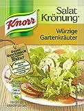 Knorr Garden Herb Salad Dressing 10 pcs/ sachets - by Helen's Own - full English recipe booklet included - Knorr Garten Kräuter Salat Krönung 10 pcs/ sachets