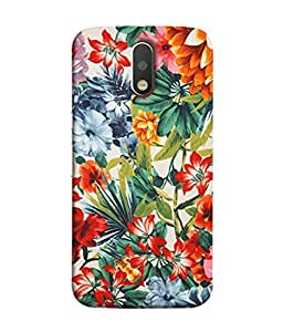 Digiarts Designer Back Case Cover for Motorola Moto G4, Moto G (4th Gen) (Zig Zag Cirlce Rectangle Square)
