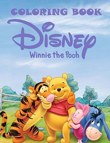 Disney Winnie the Pooh coloring book por Mr Winnie