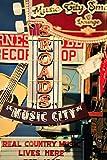 Music City Nashville Country Music Retro Schilder Foto Kunstdruck Poster 30x 46cm.