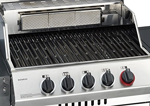 Test Gasgrill Lancaster 400 : Test gasgrill enders monroe 3 sik turbo gas grill im bundle mit