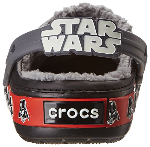 Crocs CB Darth Vader Lined K, Zoccoli e sabot, Unisex - bambino Nero (Black)