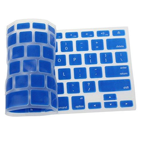 Silikon Tastatur Haut für Apple MacBook Pro Air Mac Retina 13,3, Navy (Retina Mac Tastatur-abdeckung)