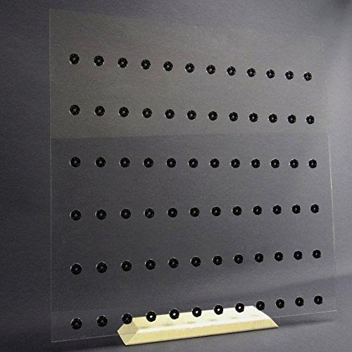 Preisvergleich Produktbild Einleger für 50 x 50 Ribba Rahmen Vitrine für LEGO® Serien Platz für 72 Figuren