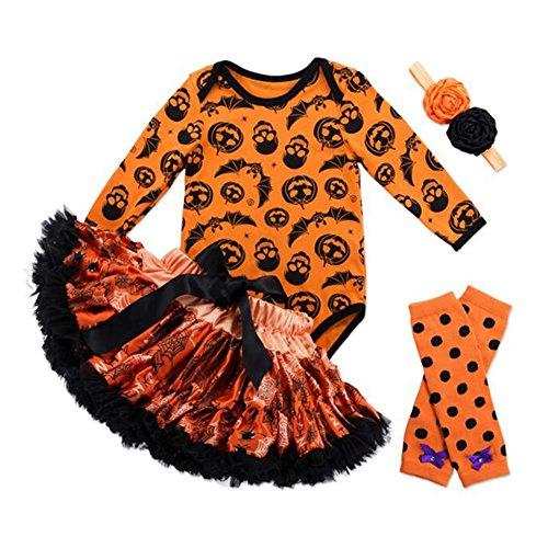 Halloween Kostüme Kleid Tutu Sets hibote Mädchen Halloween Outfits (6 Uk Halloween Kostüme 9 Monate)