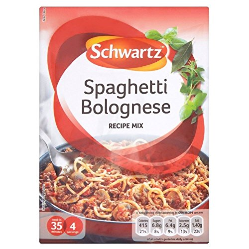 Schwartz Spaghetti Bolognese Recipe Mix (40g) - Pack of 6