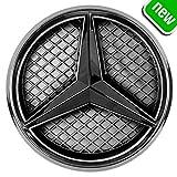 JetStyle Emblema LED 2011-2018 Black Edition Marchio per Auto Griglia Anteriore Automobile, Logo ad Illuminazione Automatica, Anelli Risplendenti, Faretto Anteriore Luci Diurne DRL