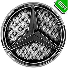 JetStyle LED Emblema 2011 - 2018, Negro Rejilla de Radiador Logotipo, Logo Automotriz Iluminado