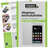 dipos I 2X Schutzfolie matt passend für ZTE Blade V7 Lite Folie Bildschirmschutzfolie