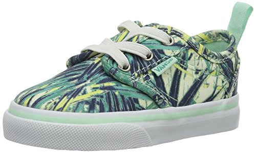 Vans Baby Mädchen Td Atwood Slip-on Z Sneaker Blau (Palms), 22 EU