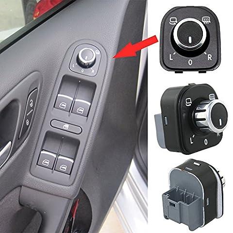 Zyurong New Car Rearview Mirror Switch Control Knob Buttons Adjustment For Volkswagen Sagitar Jetta A5 B6 Passat Magotan Tiguan Volkswagen Touran Volkswagen Golf A6