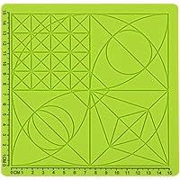 Domybest Tapis de Design en Silicone pour Stylo d'impression 3D Modèle de Base avec 2 Bouchons de Doigts en Silicone Outils de Dessin au Stylo 3D
