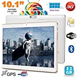 Tablette 10.1' Android 5.1 Multimédia 3G Octa Core Double SIM GPS 32Go