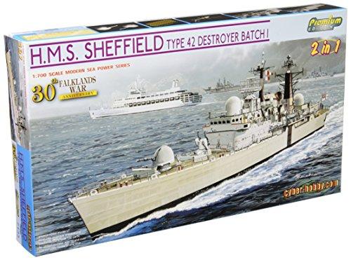 30th Anniversary (batch I) Falklands War type 42 destroyer Sheffield 1/700 Royal Navy (japan import) -