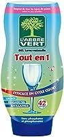 L'arbre vert Gel Lave-Vaisselle Tout-en-1 42 Lavages 720 ml