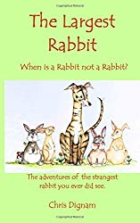 The Largest Rabbit: When is a Rabbit not a Rabbit?  The adventures of the strangest rabbit you ever did see. (Rubbish the Rabbit Hound)