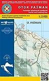 Otok Pasman nr 22 1:25.000 Wanderkarte Kroatien