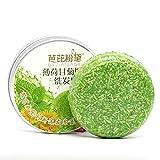 Barra de champú hecha a mano para el cabello, aceite esencial orgánico de plantas, barra de jabón, champú natural, acondicionador para el cuidado del cabello