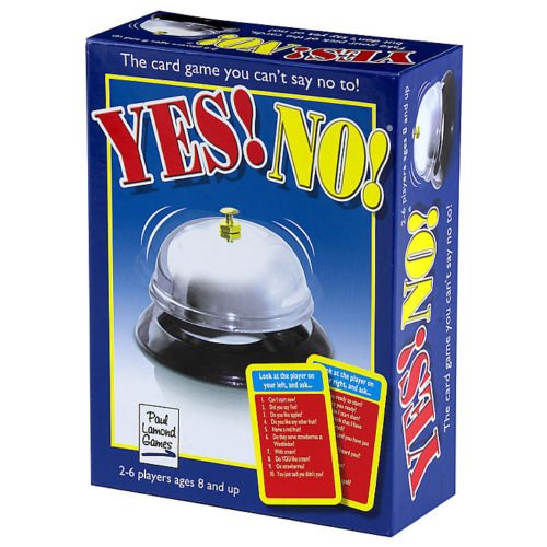 THE YES NO GAME - FUN FAMILY WORD CARD GAME (Word Family Games)