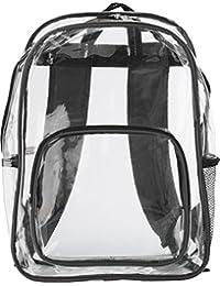 Mochila 'Panorama' Bolsillo delantero de PVC, RV, aufh angöse, acolchadas para los hombros, bolsa para botella, aplicaciones de colores. Aprox. 30,5x 43,2x 15,3cm