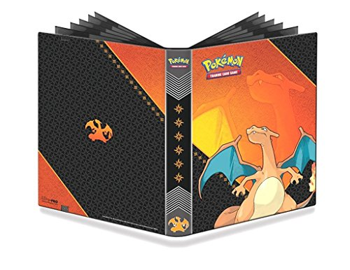 Ultra Pro 84632 - PKM Charizard 9-Pocket Pro-Binder, bunt (Japan Ex Pokemon)