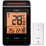Thermometer INT/EXT Uhr (Solar) Oregon rmr-802
