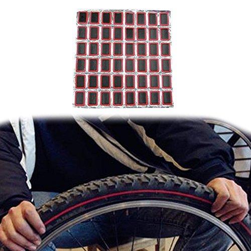 broadroot tischrockhalter Bike Reifen Fahrrad Kit Patches + 1Repair Kleber Reifen Tube Gummi (Einreichung Kit)