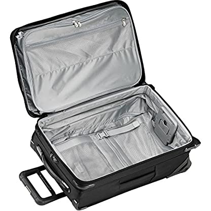 51QnZ9GtIFL. SS416  - Briggs & Riley Baseline Domestic Carry On de 2 ruedas, 55, 9 cm ampliable