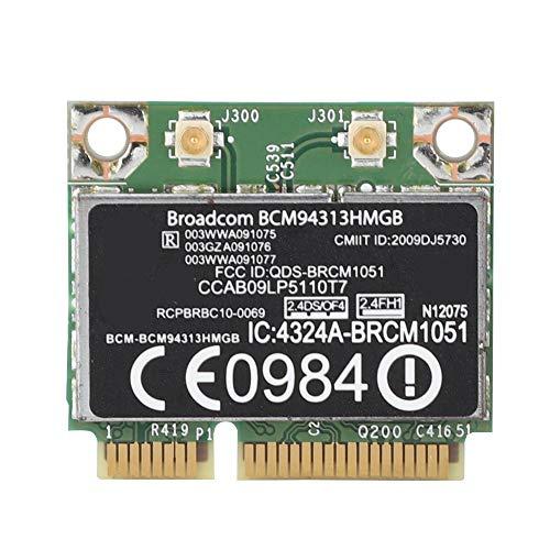 Pokerty Computer-Netzwerkkarte, für Broadcom BCM94313HMGB 300M Bluetooth3.0 PCIE-Netzwerkkarte für HP G4 / CQ43-Serie - Samsung Serie 6000