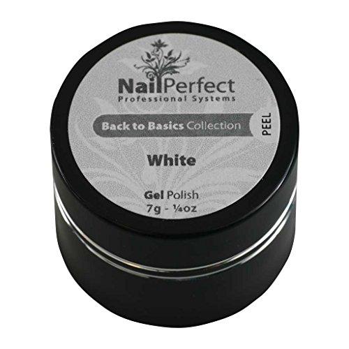 Nail Perfect - NP GP UV White Back to Basics Collection Gel U. V Coloré