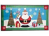 Use&Wash Weihnachtsmatten - Limitierte Sonderedition - Weihnachtsmann im Winterwald