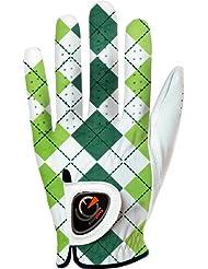 Easy Glove British_checkered-Green-w Gant de Golf Femme