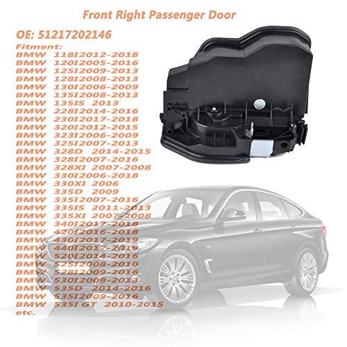 OUYAWEI Practical Auto Parts Door Lock Actuator Front Right Passenger Side  for BMW E60/E65/E70/E71/E82/E93 OE:51217202146