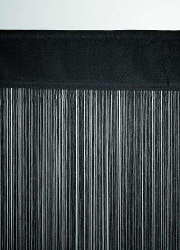 Fadenvorhang schwarz ca. 90 breit x 200 cm hoch