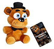 "Freddy Fazbear has been transformed into a 6"" Plush by Funko! 6"" Plush figure features Funko's unique style. These adorable plush figures are perfect for any Five Nights at Freddy's fan! Check out the other FNAF Plush figures from Funko, coll..."