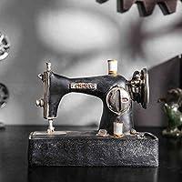 Goney Retro Máquina de Coser Modelo Resina Vintage Retro Coffee Shop Tienda de Ropa Visualización de
