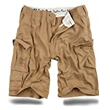 Trooper Shorts Lightning Edition Beige Gewaschen - XL