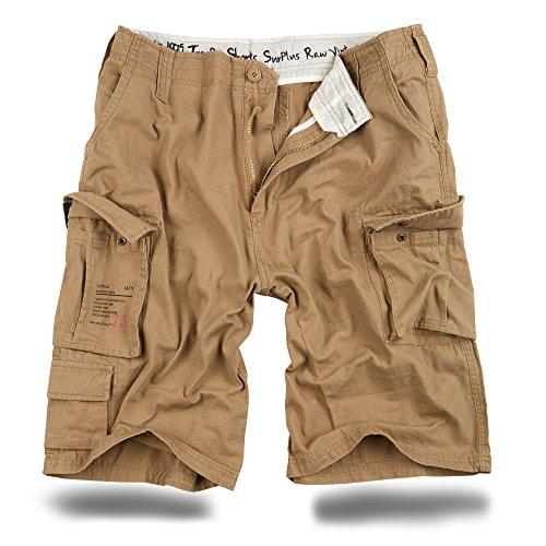 Trooper Shorts Lightning Edition Beige gewaschen - XL