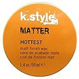 LAKMÉ K.STYLE HOTTEST - Matter Matt Finish Wax Mattes Modellierwachs für einen unfrisierten Look - 50 ml