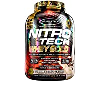 Muscletech Nitrotech Whey Gold Performance Series - 5.53 lbs (Cookies & Cream)