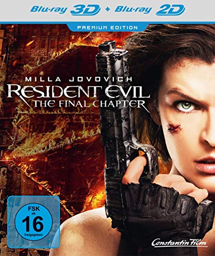 Resident Evil: The Final Chapter - Premium Edition  (+ Blu-ray) (Ds-mega-ruby)