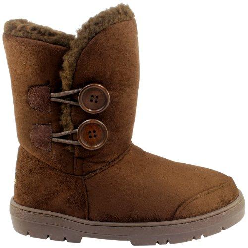 Damen Stiefel Fashion Boots Braun